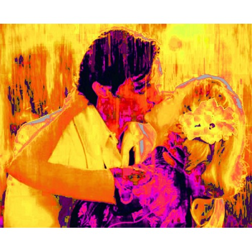 Thermographic Kiss